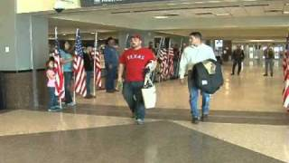 Fallen Amarillo Marine's brothers reunite with family in Arizona
