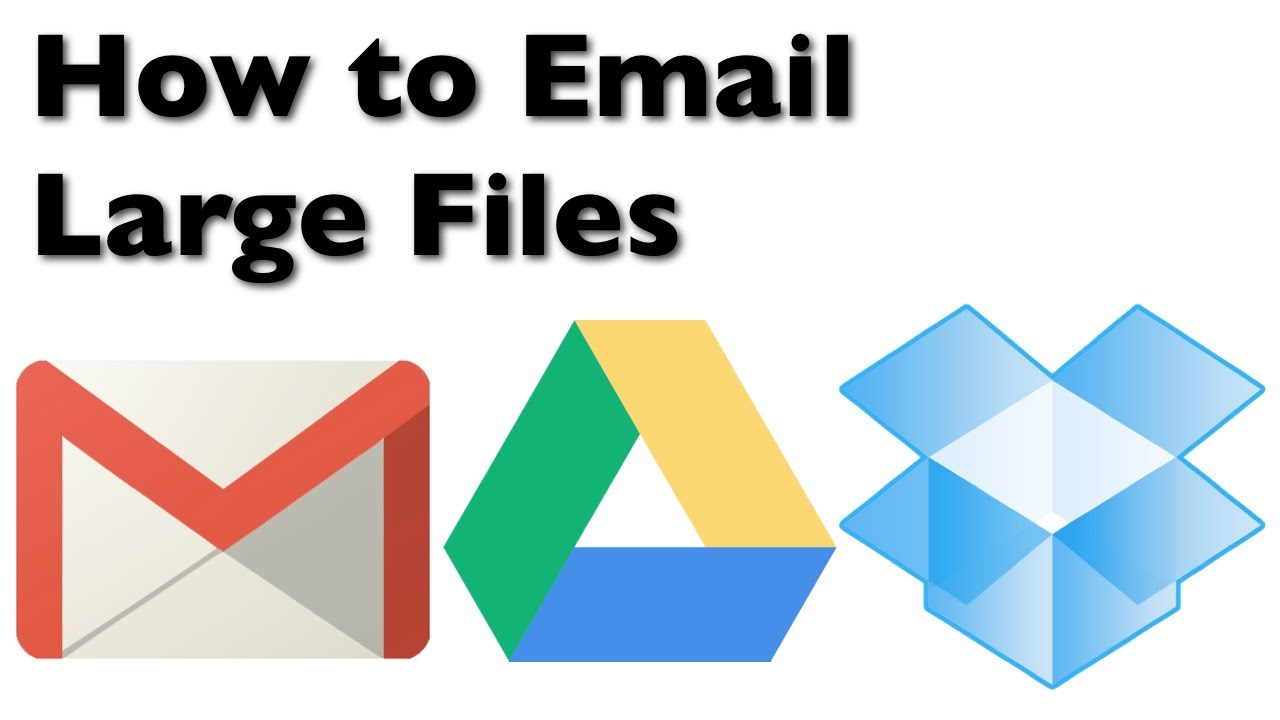 How to send large files by mail