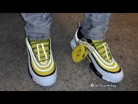 275ee2ba60 Nike Air Max 97 Frequency Pack White Yellow - Preview - YouTube