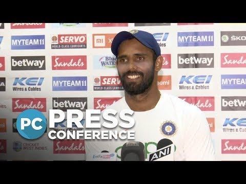 Repeat Experience with India A in Antigua was handy - Vihari