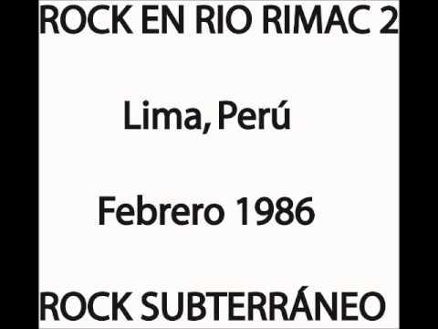 Rock en Río Rímac 2 (AUDIO) 1986