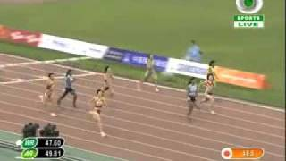asian games 2010 womens 400 hurdles.flv
