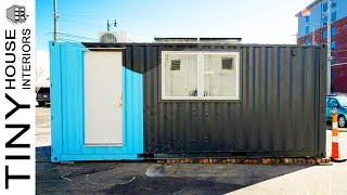 Tiny Container Home In Ohio | Tiny House Interiors