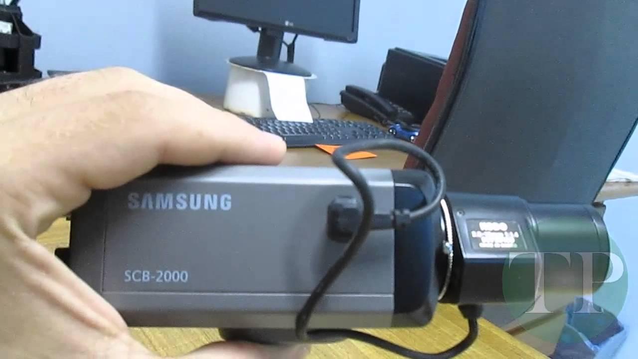 v deo teste de c mera de seguran a cftv samsung scb 2000 600tvl rh youtube com