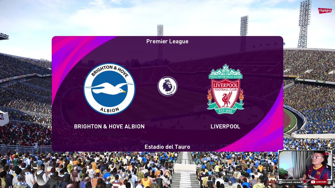 Download PES 2021-PREMIER LEAGUE Highlights: Brighton vs Liverpool  | Gameplay PC