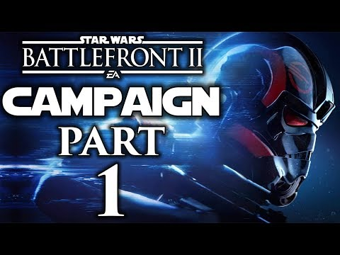 """Star Wars Battlefront II (FULL GAME) - Let's Play (Campaign) - Part 1 - """"The Cleaner"""""""