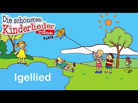 Igellied | Kinderlied mit Text zum mitsingen