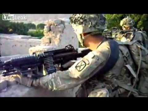 One Soldier's Amazing Experience in Afghanistan, Helmet Cam