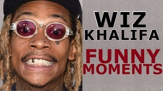 Wiz Khalifa FUNNY MOMENTS (BEST COMPILATION) 2017