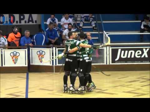 Hóquei Patins :: 13J :: Paço de Arcos - 2 x Sporting - 5 de 2015/2016