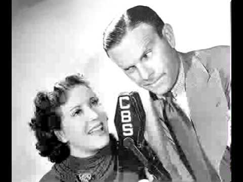 Burns & Allen radio show 5/15/40 Rah Rah in Omaha