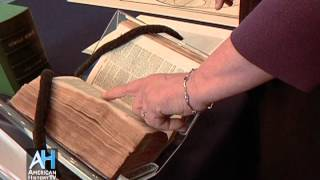 American Artifacts: American Antiquarian Society - First Bible Printed in America