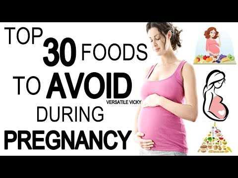 Top 30 Foods To Avoid During Pregnancy | Foods To Avoid While Pregnant
