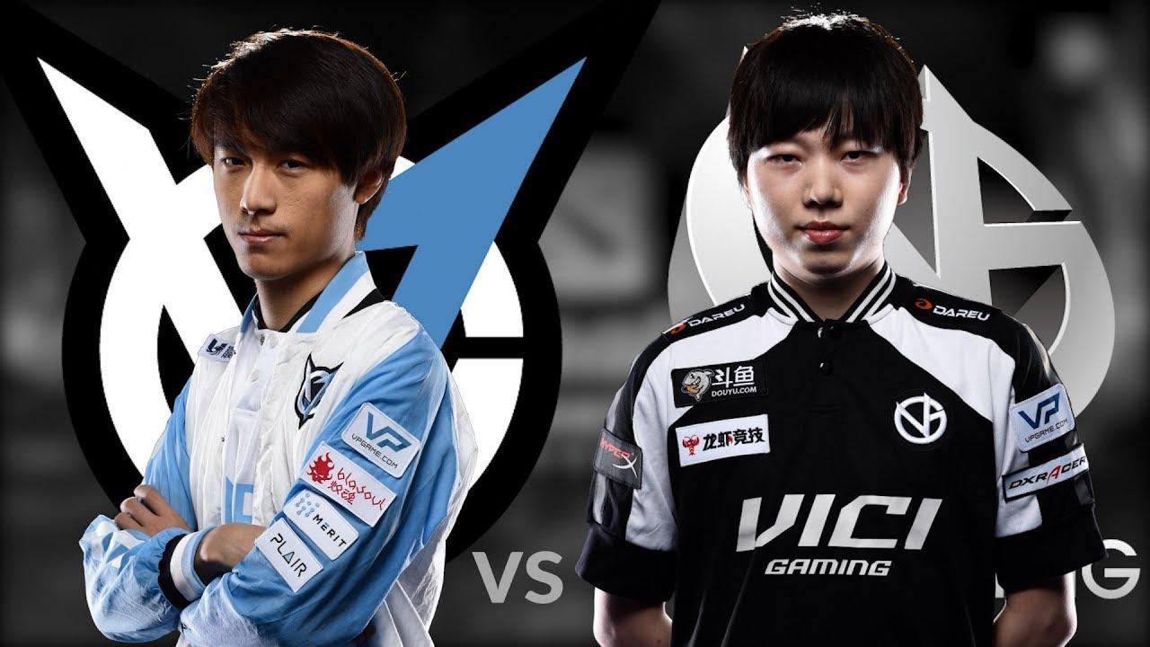 VGJ Thunder vs Vici Gaming BO1 Highlights The International Main ...