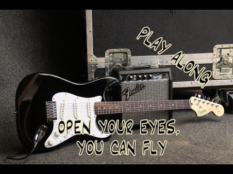 Open Your Eyes, You Can Fly / Backing Track: Smooth Jazz - G Minor - 120 BPM