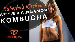 Gambar cover How To Make Kombucha - Delicious Apple & Cinnamon Kombucha Recipe