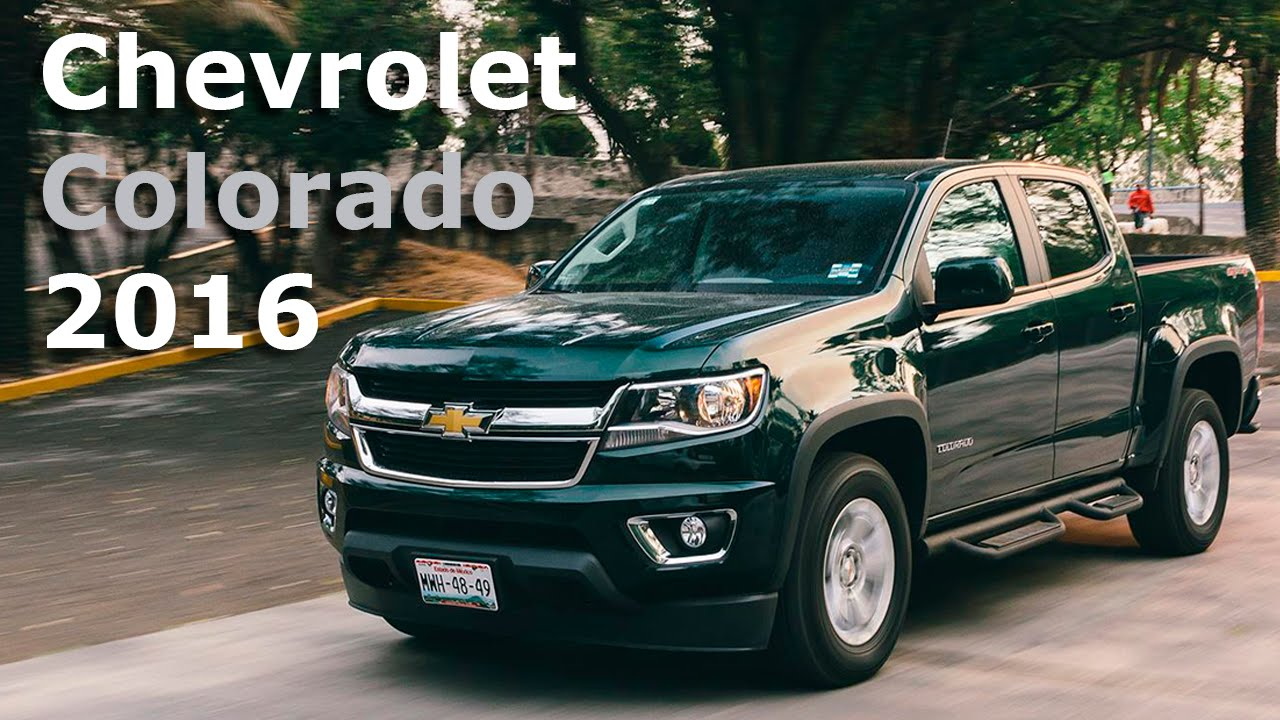 Chevrolet Colorado Una Pick Up Para Uso Recreativo Autocosmos You
