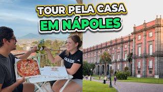 Tour pela casa nova em Nápoles + Tour pelo bairro!
