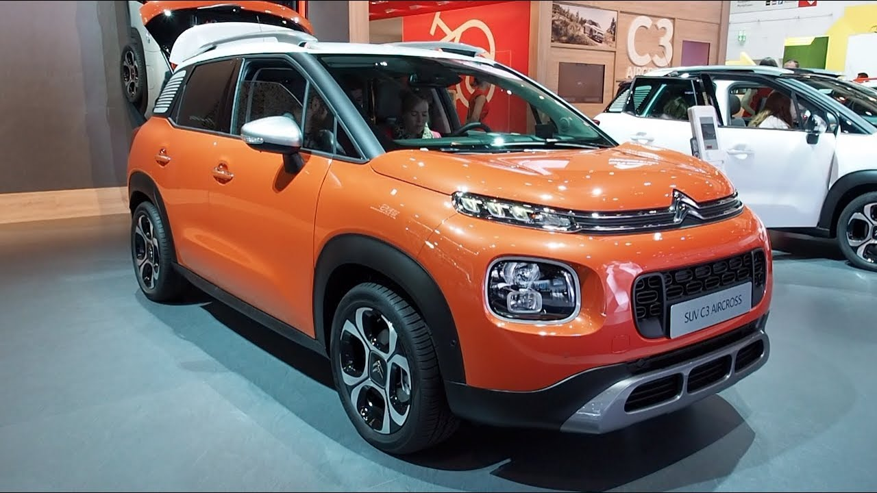 the all new citroen c3 aircross 2018 in detail review walkaround interior exterior youtube. Black Bedroom Furniture Sets. Home Design Ideas