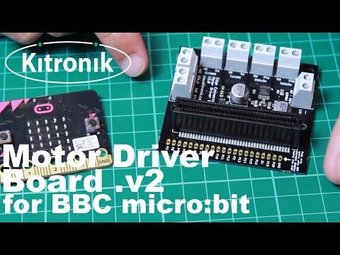 Motor Driver Board for the BBC micro:bit - V2