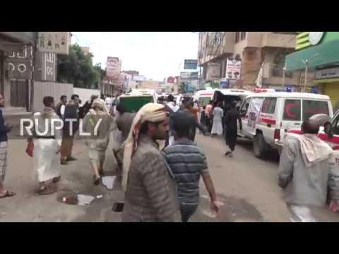 Yemen: Funerals held for civilians killed in Saudi-led coalition strikes