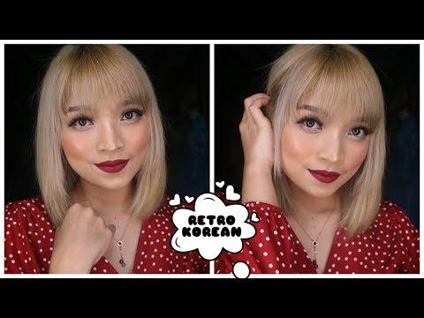 retro-korean-make-up-tutorial-💜-|-inspirasi-make-up-lebaran-#1