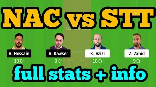 NAC vs STT Dream11| NAC vs STT | NAC vs SST Dream11 Team|
