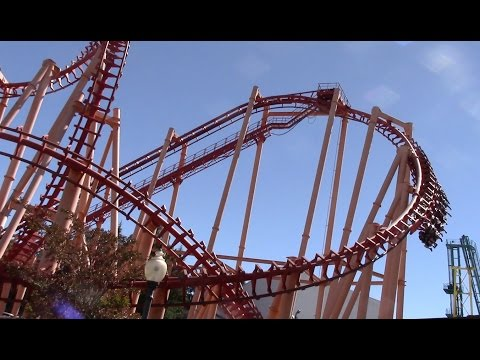 Kong Off-Ride Six Flags Discovery Kingdom HD 60fps