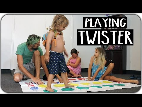 Playing Twister at the Activity Center! March 16th 2017