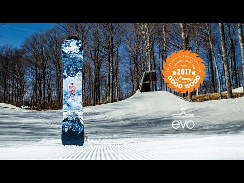 Best Snowboards of 2016-2017: Capita Outerspace Living- Good Wood Snowboard Reviews