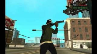 Eazy-E GTA SA Gangsta Life (R.I.P.) Music Video