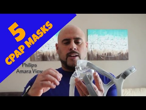 5 CPAP masks tested (Review).