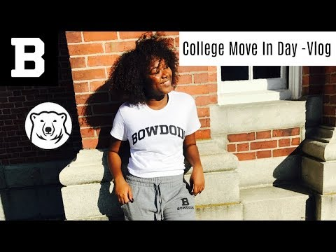 Move In Day Vlog- Bowdoin College