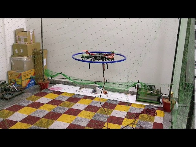 First vision assisted landing test