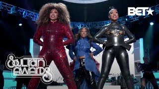 Tisha Campbell & Tichina Arnold Open The Show With A Bang!   Soul Train Awards '19