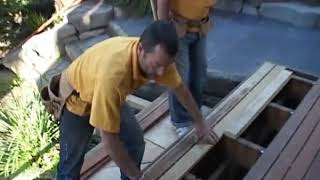 Sharkstooth   Installing concealed deck fasteners with no nails 6