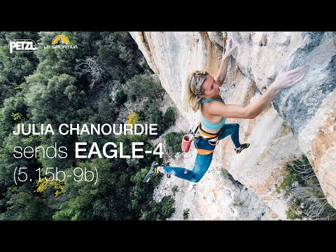 Julia Chanourdie sends EAGLE-4 (9b)