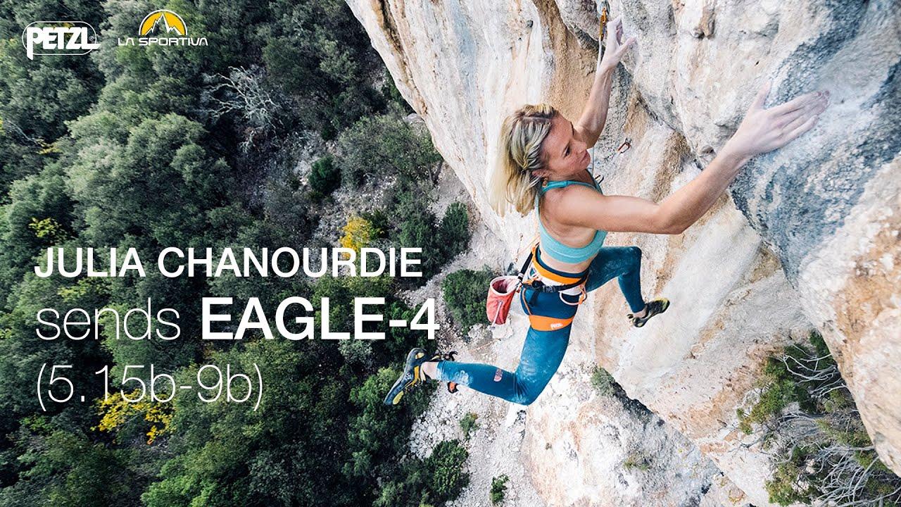 Download Julia Chanourdie sends EAGLE-4 (9b - 5.15b)