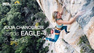 Julia Chanourdie sends EAGLE-4 (9b)
