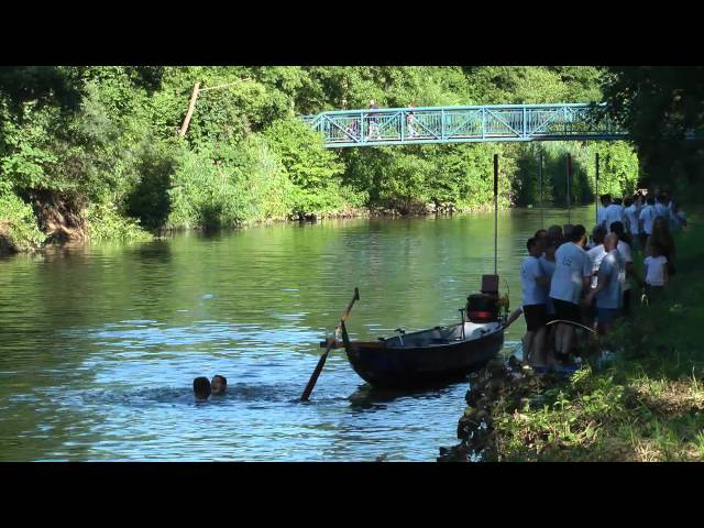 RGGW Rudergesellschaft Waiblingen Drachenboot-Cup Finale - Moderation Regina Sauer (SWR)