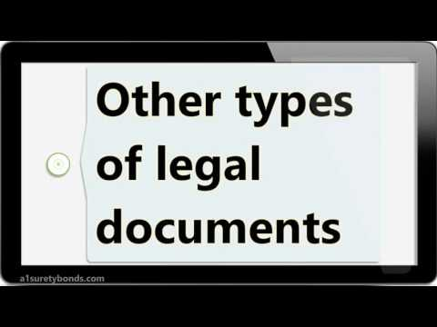 California Legal Document Assistant Bonds YouTube - California legal documents