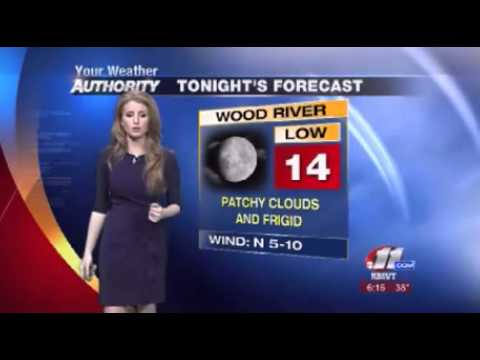 Stephanie Mead Weathercast Youtube