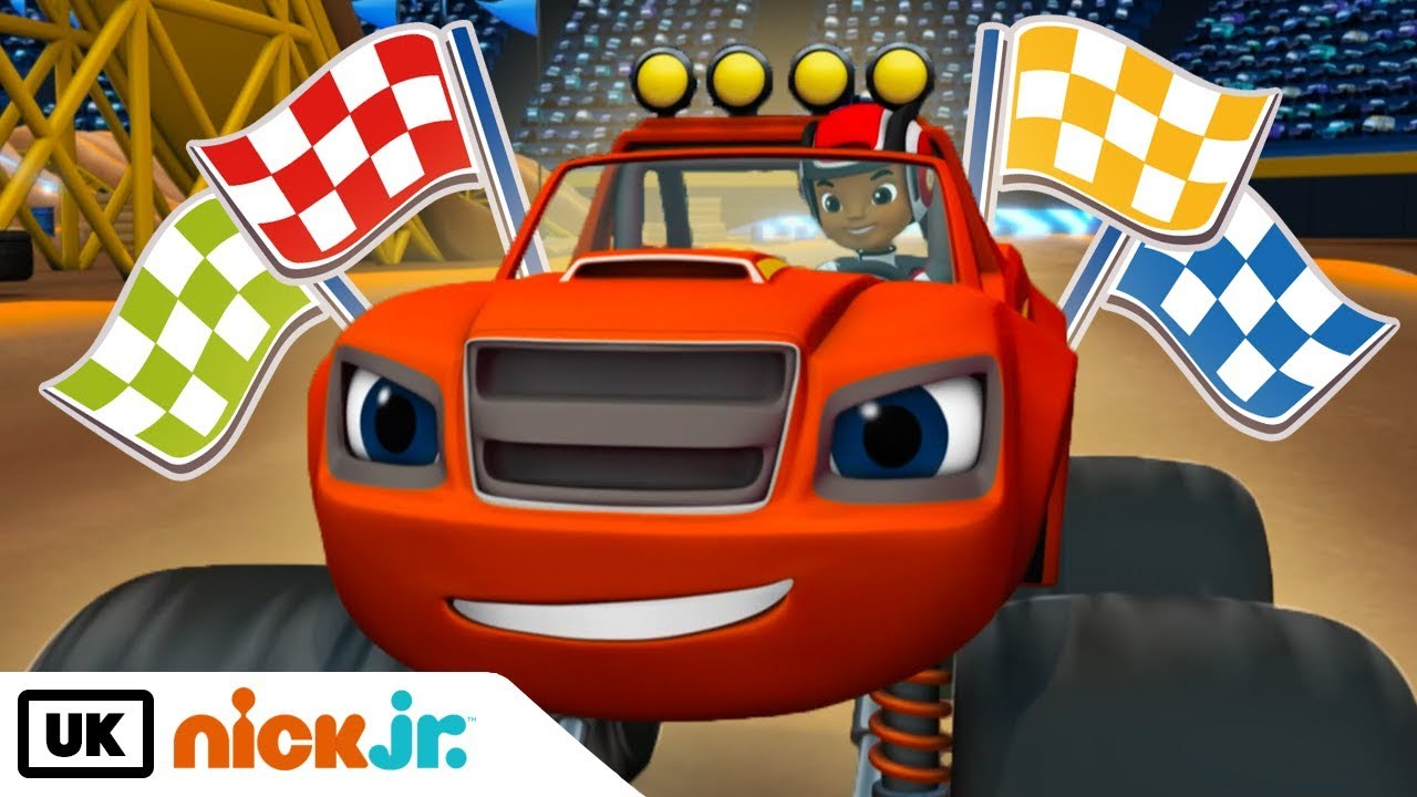 Download Blaze and the Monster Machines | Wildest Races | Nick Jr. UK