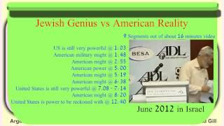 Jewish Genius vs American Economic Deficit History