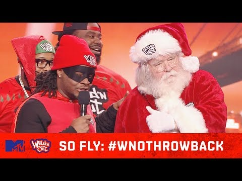 Emmanuel Hudson Gets Schooled On Santa's Ho's Ho' Ho's 🎅🏻 | Wild 'N Out | #SoFly