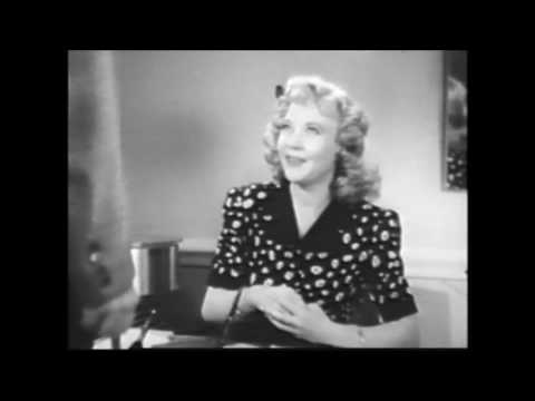 """CRACKED NUTS""Stuart Erwin, Una Merkel, Mischa Auer, Shremp Howard. 7-10-1941. (HD HQ 1080p)"