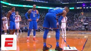 Russell Westbrook mops the floor for himself | ESPN