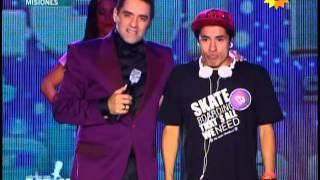 Elias Acuña en la primera final de Soñando por Cantar 20-4-13