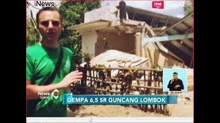 Kepanikan Warga Saat Gempa 6,5 SR Kembali Guncang Lombok - iNews Siang 19/08