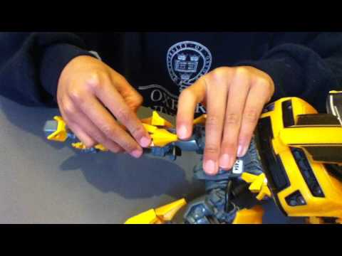Bumble Bee Transformers: From car to robot.